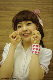 Minah Girls Day aegyo