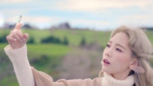 Taeyeon and butterfly 1