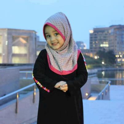 little girl and her hijab