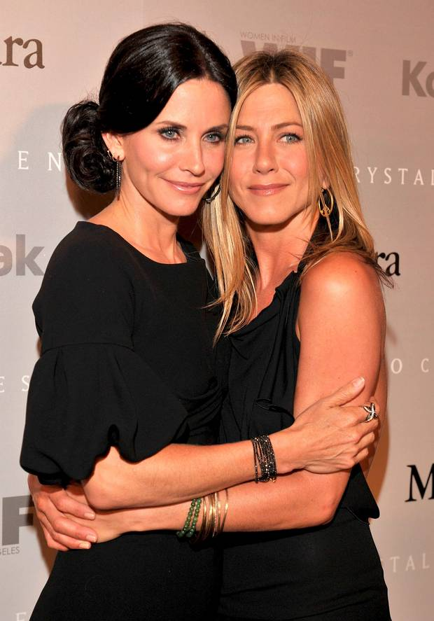 Jennifer Aniston dan Courteney Cox, kisah persahabatan Jennifer Aniston dan Courteney Cox
