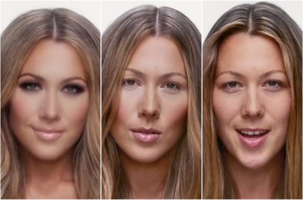 Colbie Caillat, music video Try Colbie Caillat, Colbie Caillat tanpa make up