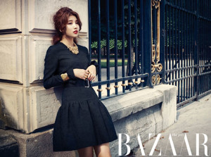 Suzy Miss A photoshoot Bazaar