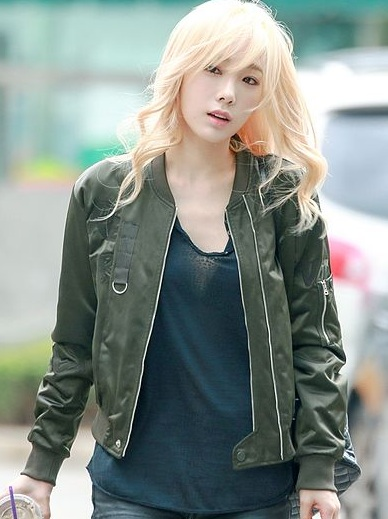 Taeyeon outfit in Incheon Airport