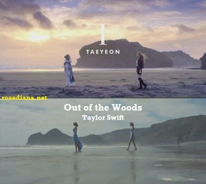 """Fanwar: """"Out of the Woods"""" - Taylor Swift VS """"I"""" - Kim Taeyeon"""